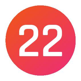 Studio 22 logo